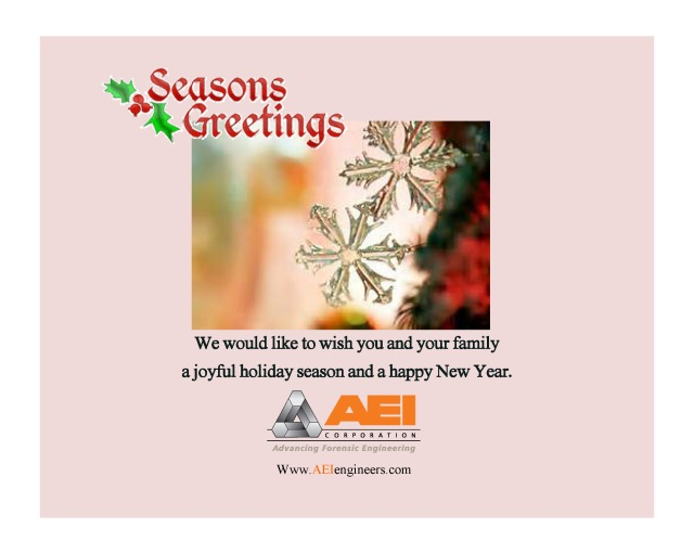 Seasons Greetings from AEI Corporation