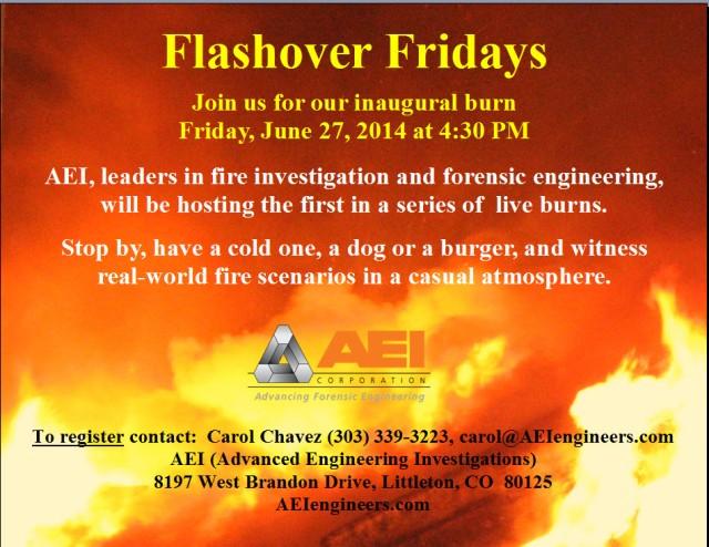 Flashover Friday
